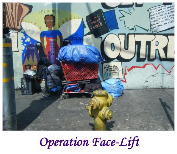 Skid Row's Operation Face-Lift / The Community Is Outraged by Michael Blaze