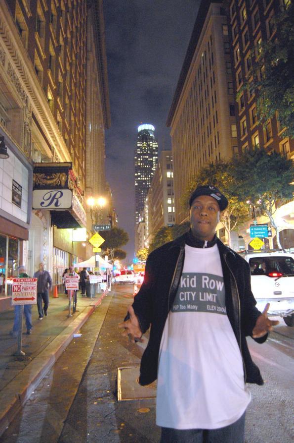 Skid Row Community Activist General Jeff by Michael Blaze