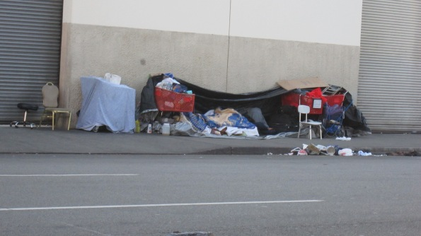 street living morning by Michael Blaze Skid Row Streets