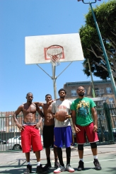 3 on 3 street ball  by michael blaze
